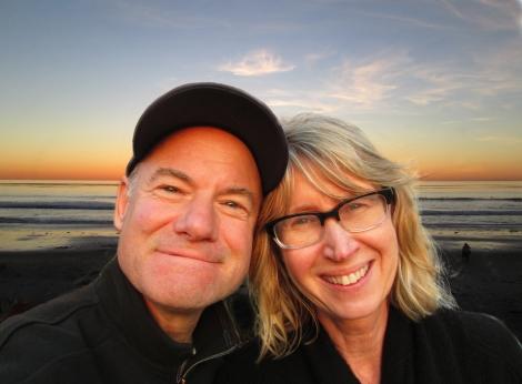 Me & Tam, sunset